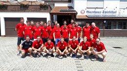 Trainingslager der ersten Mannschaft